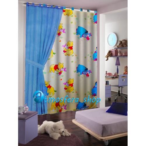 Tenda Winnie The Pooh per finestra