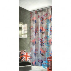 Tenda  London New York 150x290cm in cotone con asole